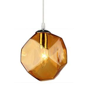 Candellux- JEWEL függeszték lámpa, 1x40W- borostyán