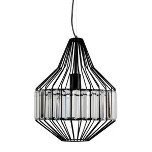 Candellux - ALVARO függeszték lámpa 1x40W- fekete