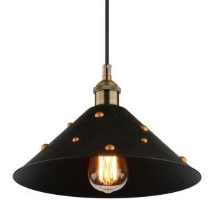 Candellux-SCRIMI függeszték lámpa 1x40W- fekete