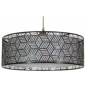Candellux- BROWN függeszték lámpa, 1x60W- barna