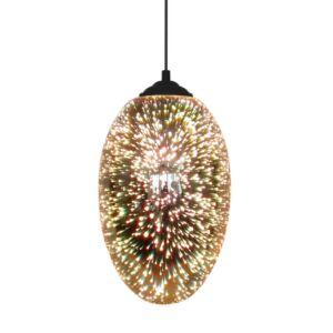 Candellux - GALACTIC függeszték lámpa, 1x60W- 3D