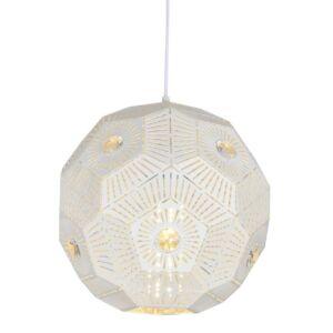 Candellux- EUPHORIA függeszték lámpa, 1x40W- fehér