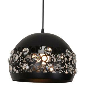 Candellux- JOLINA függeszték lámpa, 1x40W- fekete