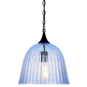 Candellux- VASE függeszték lámpa, 1x60W-kék