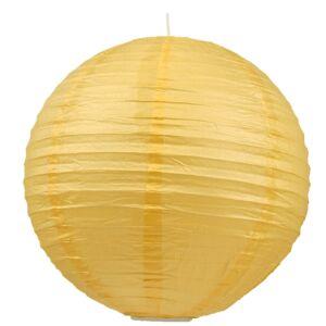 Kokon színes papír gömb sárga színű függeszték 40 cm E27-Candellux