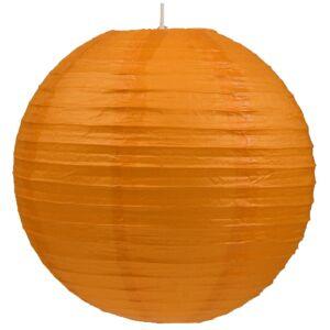Kokon színes papír gömb narancssárga színű függeszték 50 cm E27-Candellux