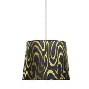 Candellux- TIGER függeszték lámpa, 1x60W- fekete