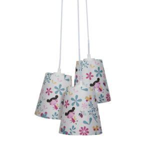 Candellux- GIRL függeszték lámpa, gyermekszobai, 3x40W- színes