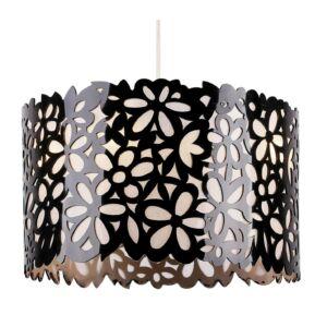 Candellux - SIMONA függeszték lámpa 3x40W- fekete