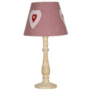 Candellux- Sweet asztali lámpa, gyermekszobai, 1x40W- rózsaszín