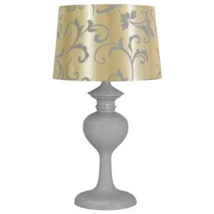 BERKANE Asztali lámpa 1X40W E14 Szürke  /Beige - Candellux