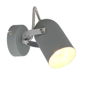 Szürke Fali lámpa 1X40W E14 Szürke