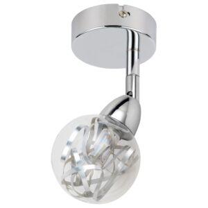 BOLO Fali lámpa 1X6W LED SMD Króm / Transparent