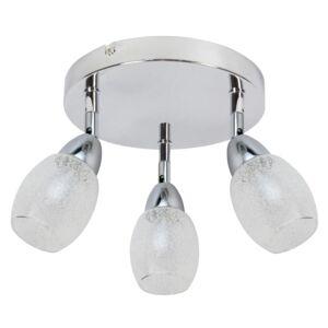 RICO Mennyezeti 3X6W LED SMD Króm / Transparent