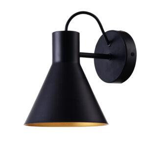 MORE Fali lámpa 1X40W E27 Matt fekete