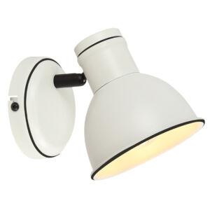 ZUMBA Fali lámpa 1X40W E14 Fehér- Fekete
