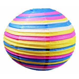 Kokon színes papír gömb rózsaszín-kék  függeszték 50 cm E27-Candellux