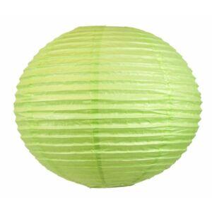 Kokon színes papír gömb zöld függeszték E27 50 cm -Candellux
