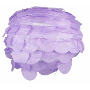 Fenyőtoboz lila gömb lámpaernyő- Candellux