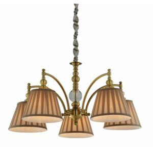 Candellux- AUSTIN függeszték lámpa, 5x40W- patinás