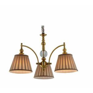 Candellux- AUSTIN függeszték lámpa, 3x40W- patinás