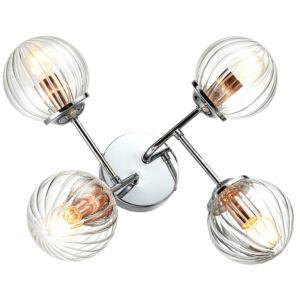 Candellux- BEST Fali lámpa 4X40W E14- Króm