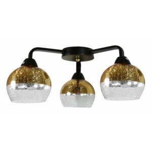 Candellux- CROMINA mennyezeti lámpa 3x60W- arany