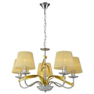 Candellux- DIVA függeszték  lámpa 5X40W E14 -arany
