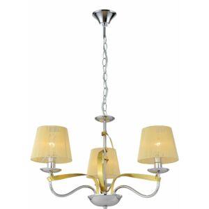 Candellux -DIVA függeszték  lámpa 3X40W E14 - arany