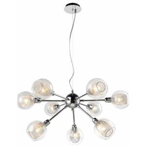 Candellux- Dixi függeszték lámpa, 9x40W E14- króm