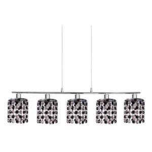 Candellux-ROYAL függesztett lámpa 5x40W-króm