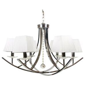 Candellux- VALENCIA függesztett lámpa 6x40W- króm