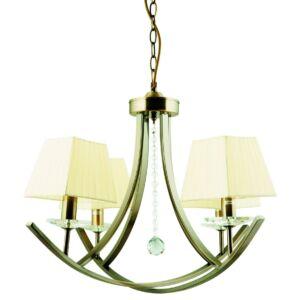 Candellux- VALENCIA függesztett lámpa 4x40W- krém