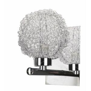 Candellux- WIND fali lámpa, 1x40W- króm