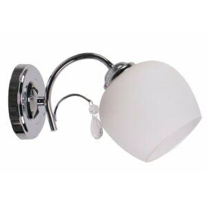 Candellux- ZACHERA fali lámpa 1x40W- fehér