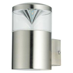 Charlotte kültéri lámpa fali GU10 4,5W, inox IP44