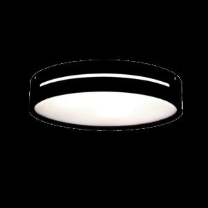 Donna Mennyezeti Lámpa Fekete Fa - Elmark