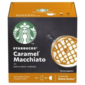 Dolce Gusto - Kávékapszula - Starbucks Caramel Macchiato