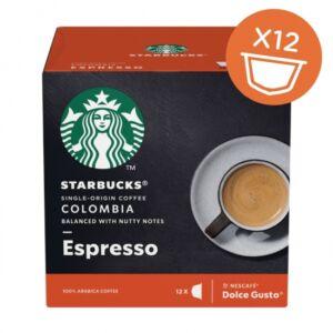 Dolce Gusto - Kávékapszula -Starbucks  Colombia Medium Roast Espresso