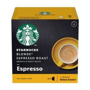 Dolce Gusto - Kávékapszula -Starbucks  Espresso Blond Roast
