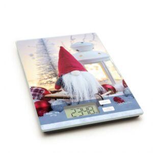Vag&Arths konyhai mérleg, karácsonyi manó- 5kg