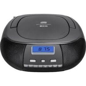 ECG CDR-500BK Hordozható rádió CD lejátszóval