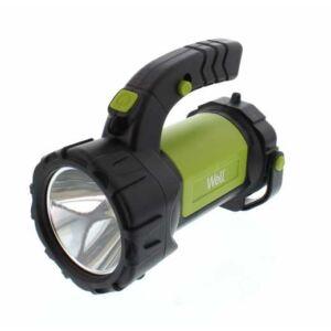 Well COB LED-es akkus kézilámpa 10 W, 1 x T6 + 1 COB