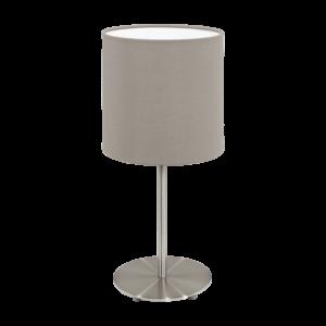 Textil. Eglo Asztali Lámpa E27 60W Szübarna Pasteri