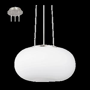 Eglo Függeszték2X60W E27 35Cm M.Nikk/opál Optica