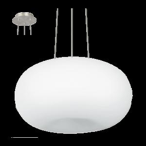 Eglo Függeszték2X60W E27M.Nikk/opál Optica 13976