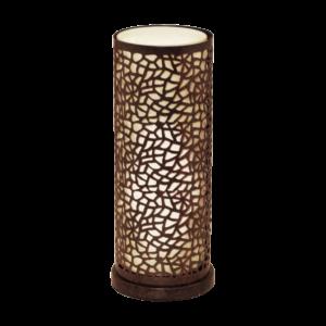 Eglo Asztali Lámpae27 60Wantik barna/pezsgő Almera