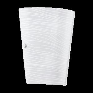 Eglo Fali Lámpa E27 1X60W Fehér Dekor Caprice