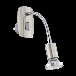 Led dugvillába illeszthető kapcsolós fali lámpa 3W Kr 18Cm Flex Mini 4 - Eglo