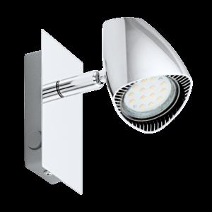 Led-Es Eglo Fali Lámpa Gu10 1X3W króm Corbera